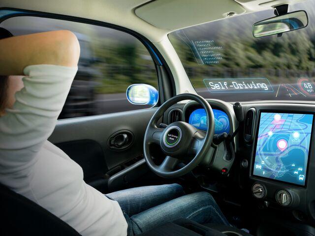 Selbstfahrende Autos Wenn Das Auto Das Steuer übernimmt Motor Snat