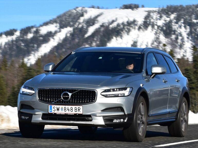 Volvo V90 Cross Country D5 Der Komfort Kommt Niemals Zu Kurz